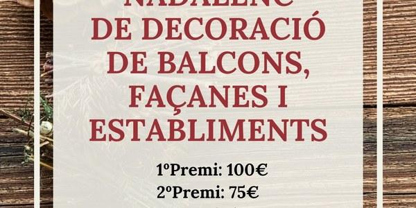 Eco-Concurs nadalenc de decoració a Castelló de Farfanya